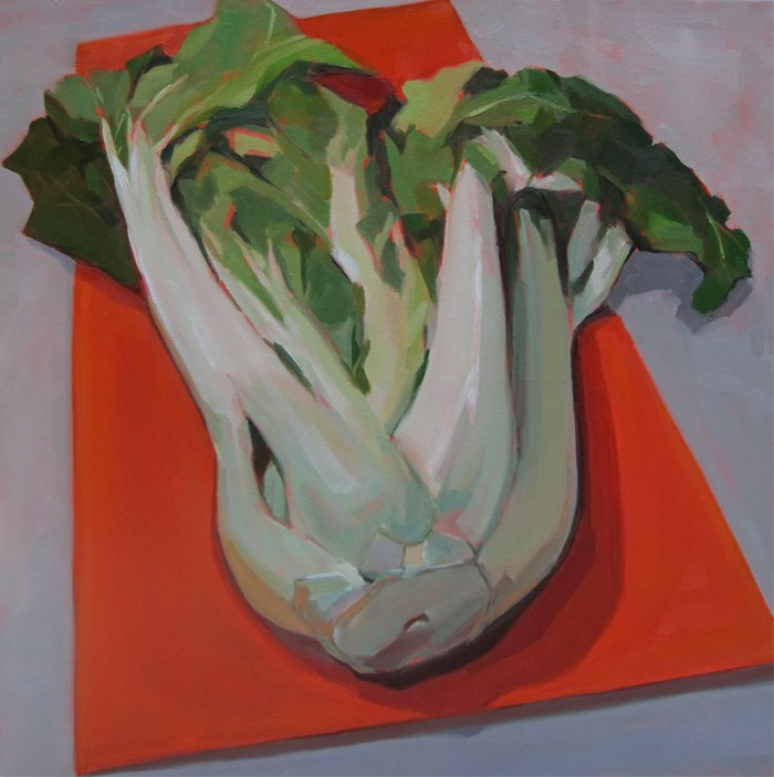 """Really Large Bok Choy"" original fine art by Robin Rosenthal"