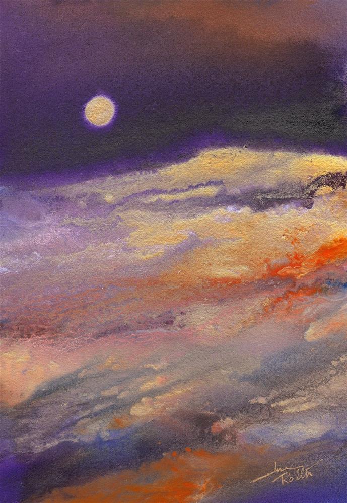 """Flow"" original fine art by June Rollins"