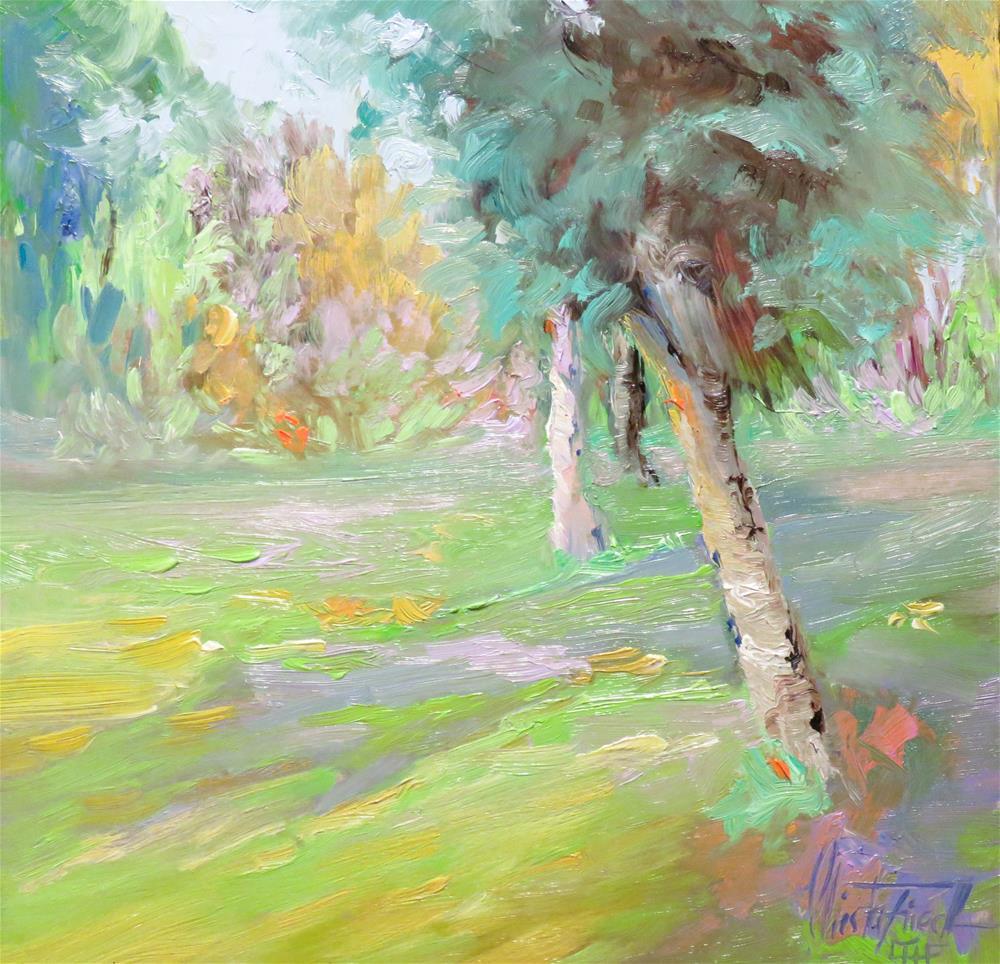 """""""Spring Fever"""" original fine art by Christa Friedl"""