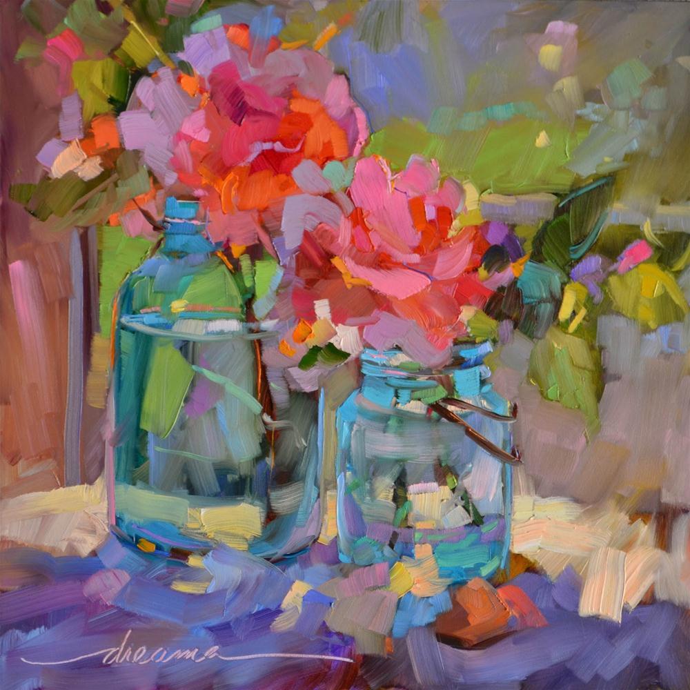 """""""Color Song"""" original fine art by Dreama Tolle Perry"""