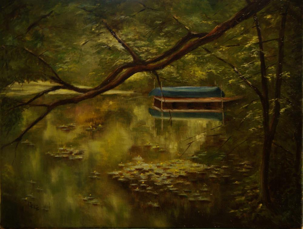 """The Cove"" original fine art by G. G. Slockett"