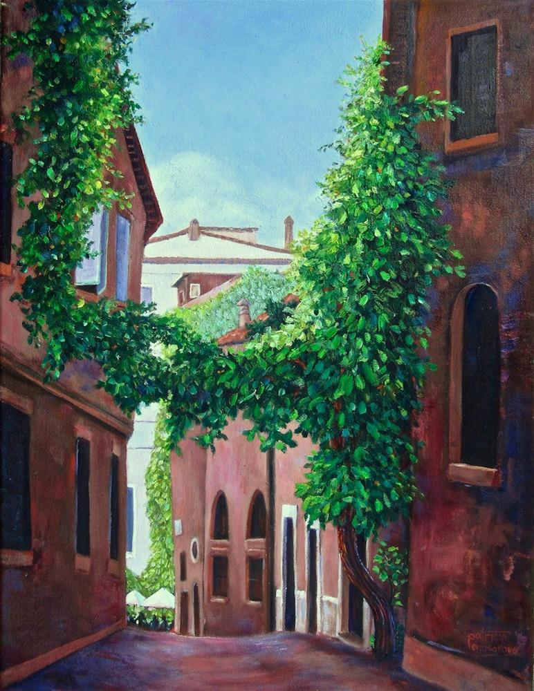 """In Trastevere"" original fine art by Patricia Musgrave"