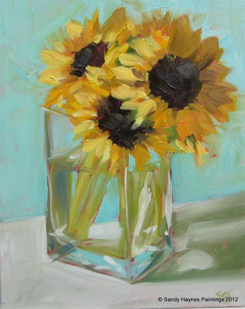 """Water shadow"" original fine art by Sandy Haynes"