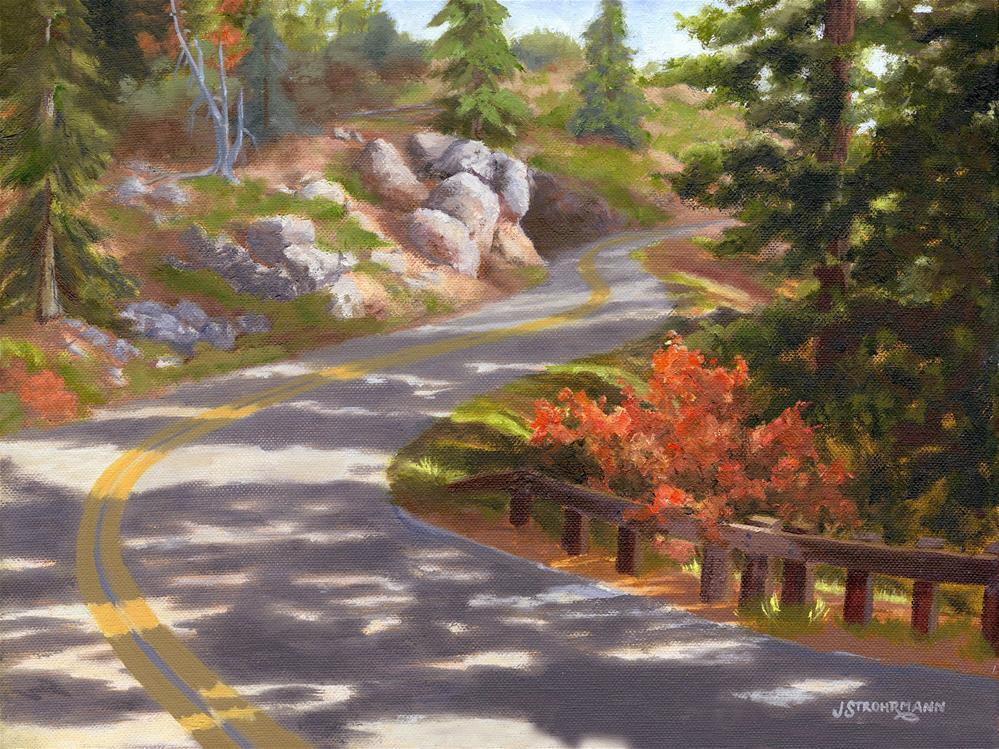 """The Long Way Home"" original fine art by Jeanne Strohrmann"