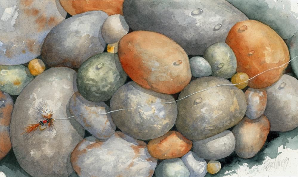 """""""Wulff Landed"""" original fine art by Susanne Billings"""