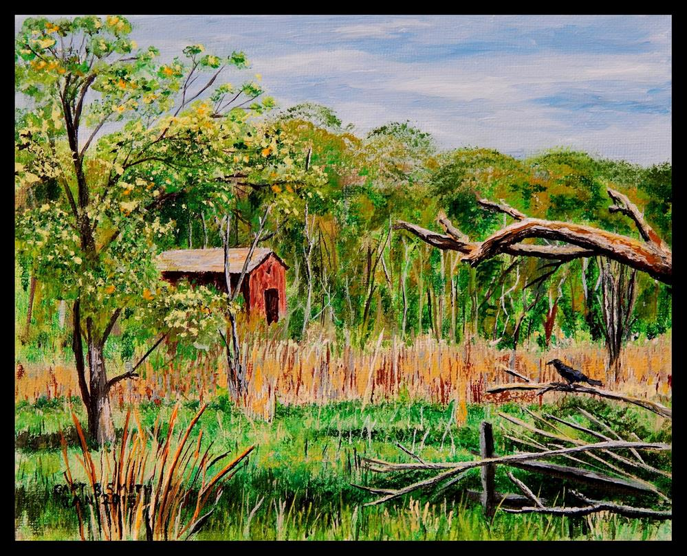 """Once Upon a Farm II"" original fine art by Captain B Smith"