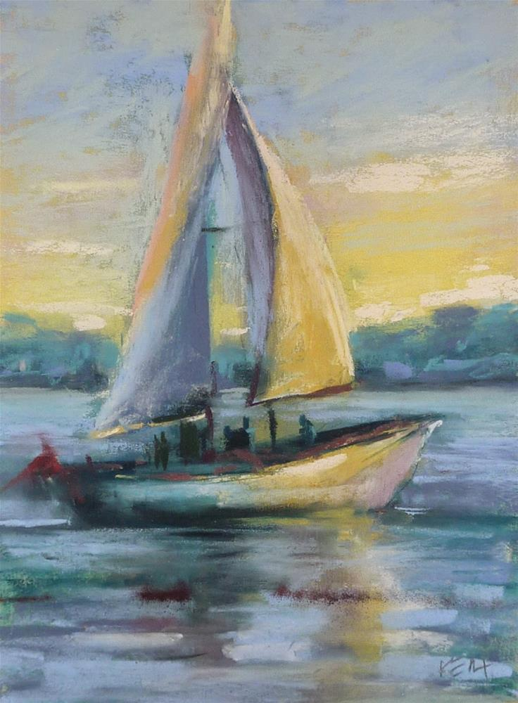 """""""The Benefits of a Change of Scenery"""" original fine art by Karen Margulis"""