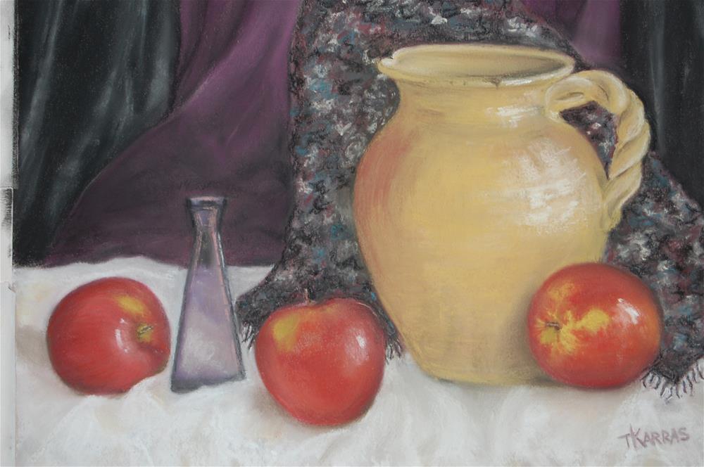 """Apple Gala"" original fine art by Christina Karras"