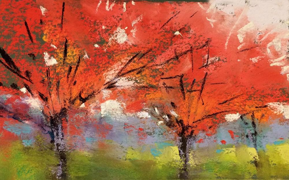 """It's All Light"" original fine art by Marla Baggetta"