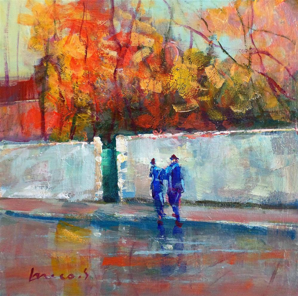 """""""RAIN"""" original fine art by salvatore greco"""