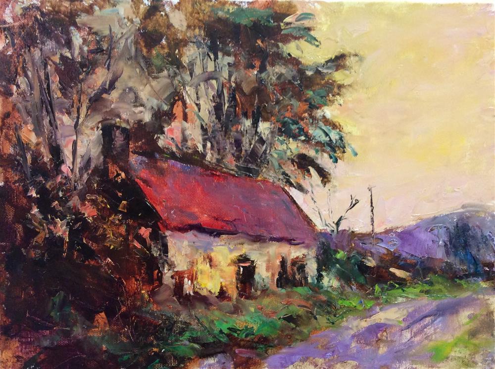 """Autumn in Scotland"" original fine art by John Shave"