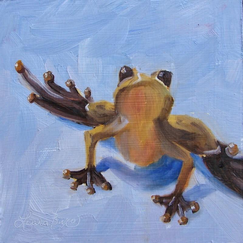 """Lookin' Up"" original fine art by Laura  Buxo"