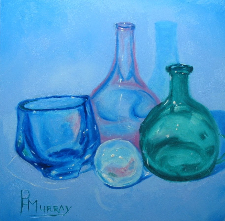 """""""Reflections in Glass"""" original fine art by Patricia Murray"""