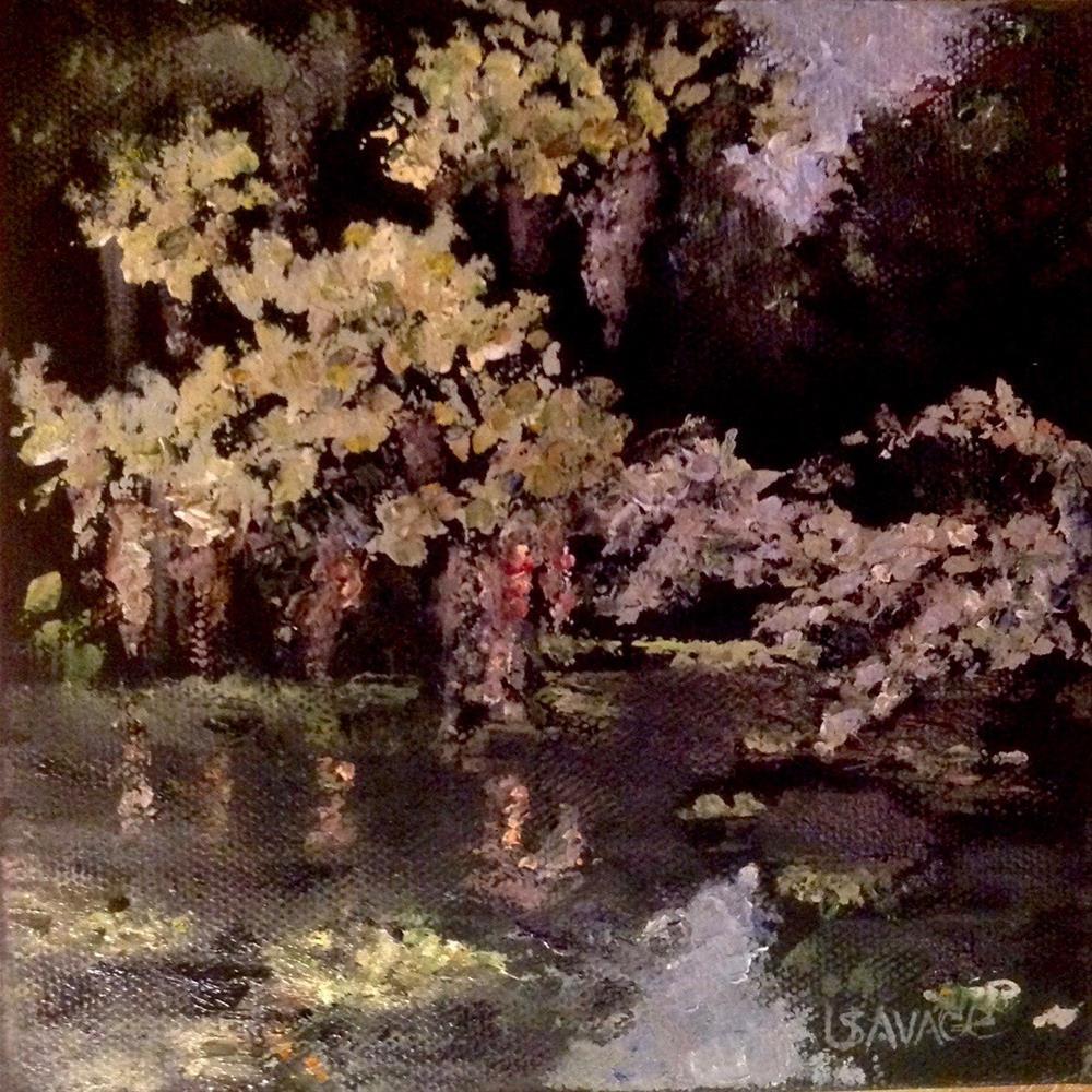 """River of Rest"" original fine art by Judy Usavage"