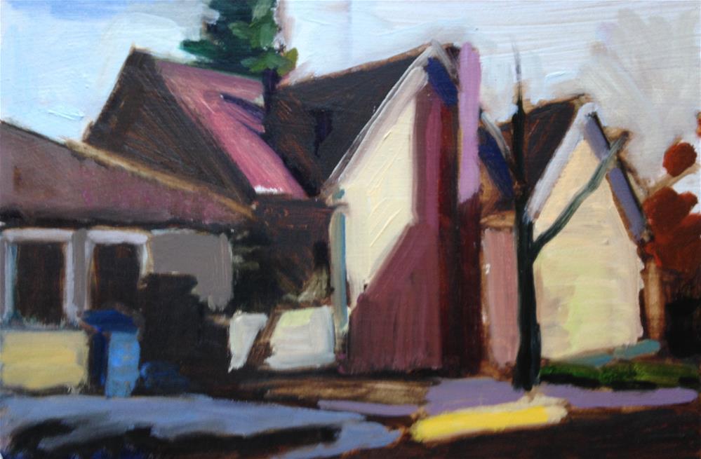 """Afternoon Light"" original fine art by Pamela Hoffmeister"