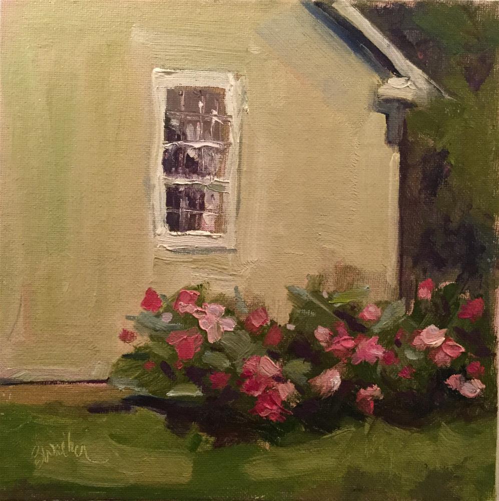 """""""Summer Pinks"""" original fine art by Barb Walker"""