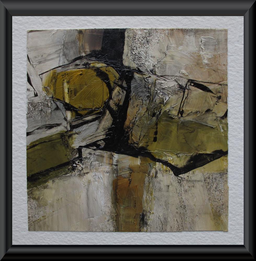 """Abstract Expressionism Figure Original Modern Art Colette Davis Art Painting OIL"" original fine art by Colette Davis"