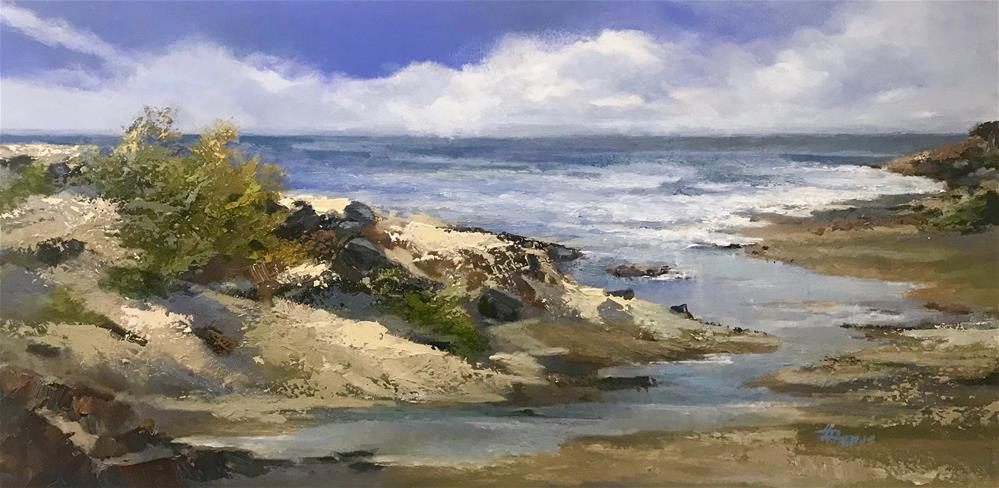 """Summer's Last Day"" original fine art by Helen Harris"