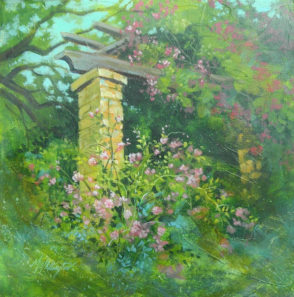 """Rose Garden"" original fine art by Margie Whittington"