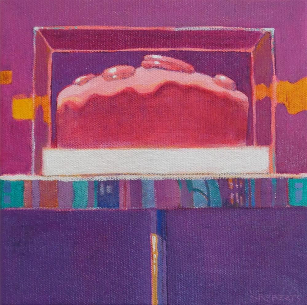 """""""Gateau Rose"""" original fine art by Nancy Roberts"""