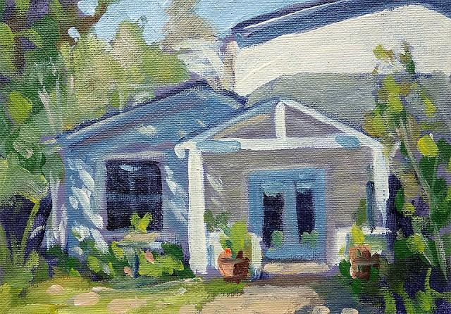 """""""Entrance"""" original fine art by J. Farnsworth"""