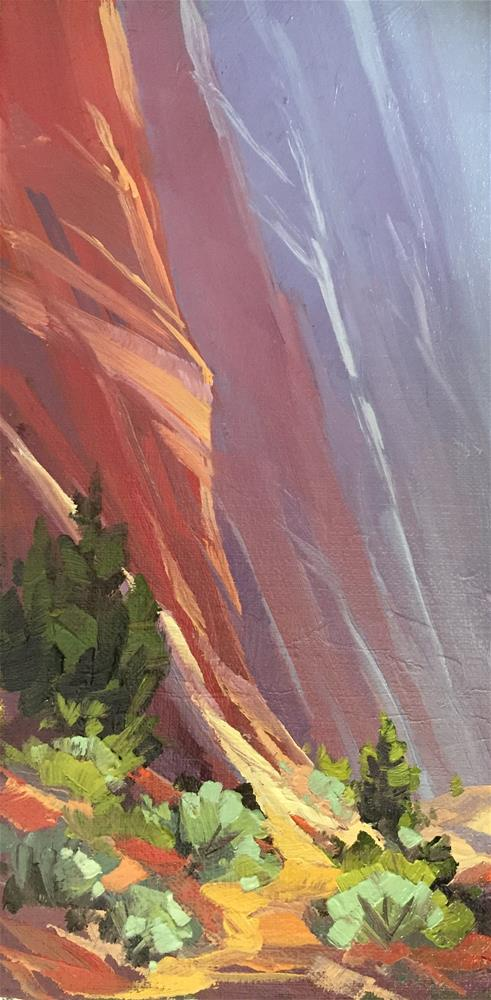 """""""Canyon Paths"""" original fine art by Mary Jabens"""