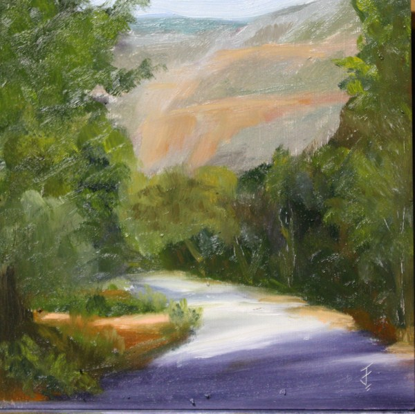 """""""Red Canyon"""" original fine art by Jane Frederick"""
