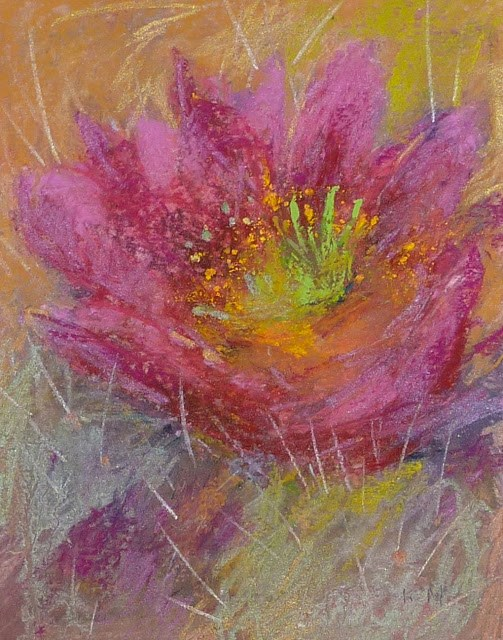 """Sennelier Iridescent Pastel Review...The Fine Jewelry of Pastels"" original fine art by Karen Margulis"