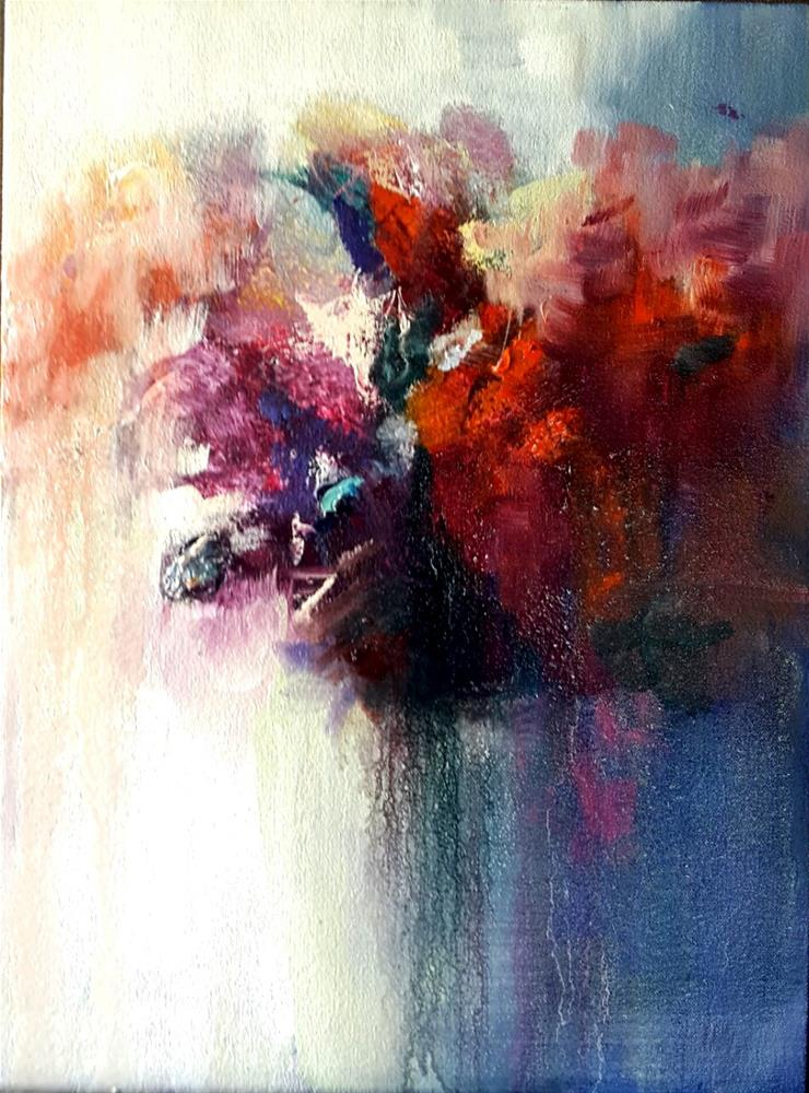 """Jewel  colours"" original fine art by Rentia Coetzee"
