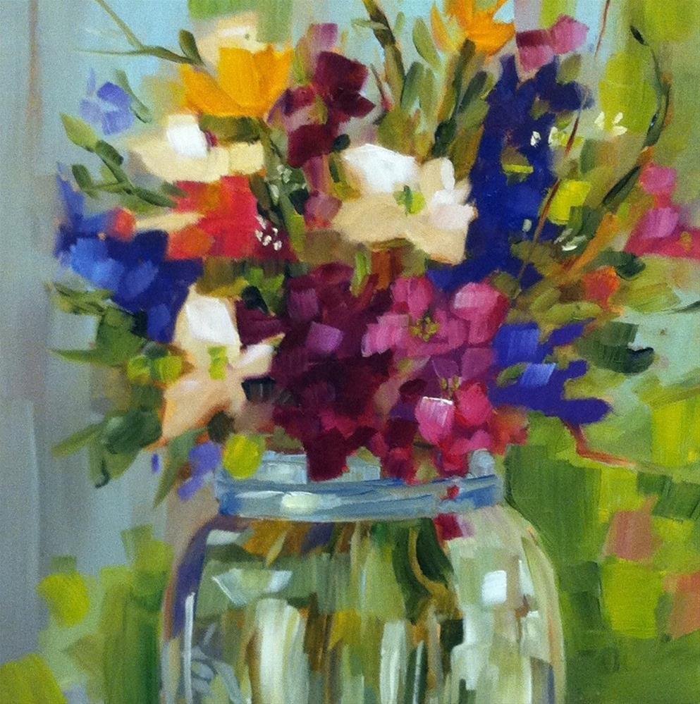 """Festival"" original fine art by Libby Anderson"