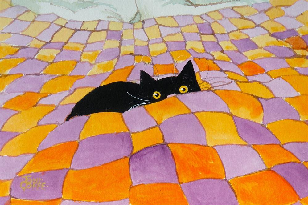 """My Favourite Place"" original fine art by Toni Goffe"