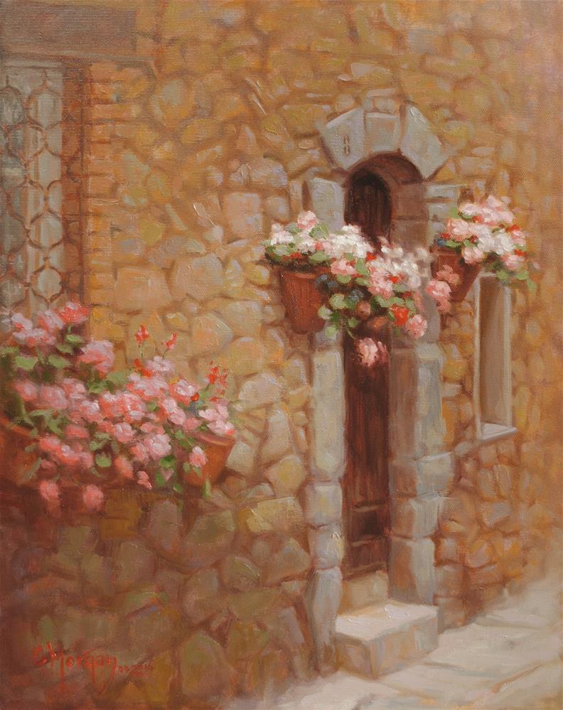 """""""Saint Tropez, France"""" original fine art by Cecile W. Morgan"""