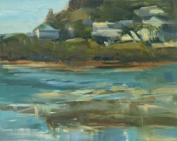 """Heavenly Heceta Beach"" original fine art by Patti McNutt"
