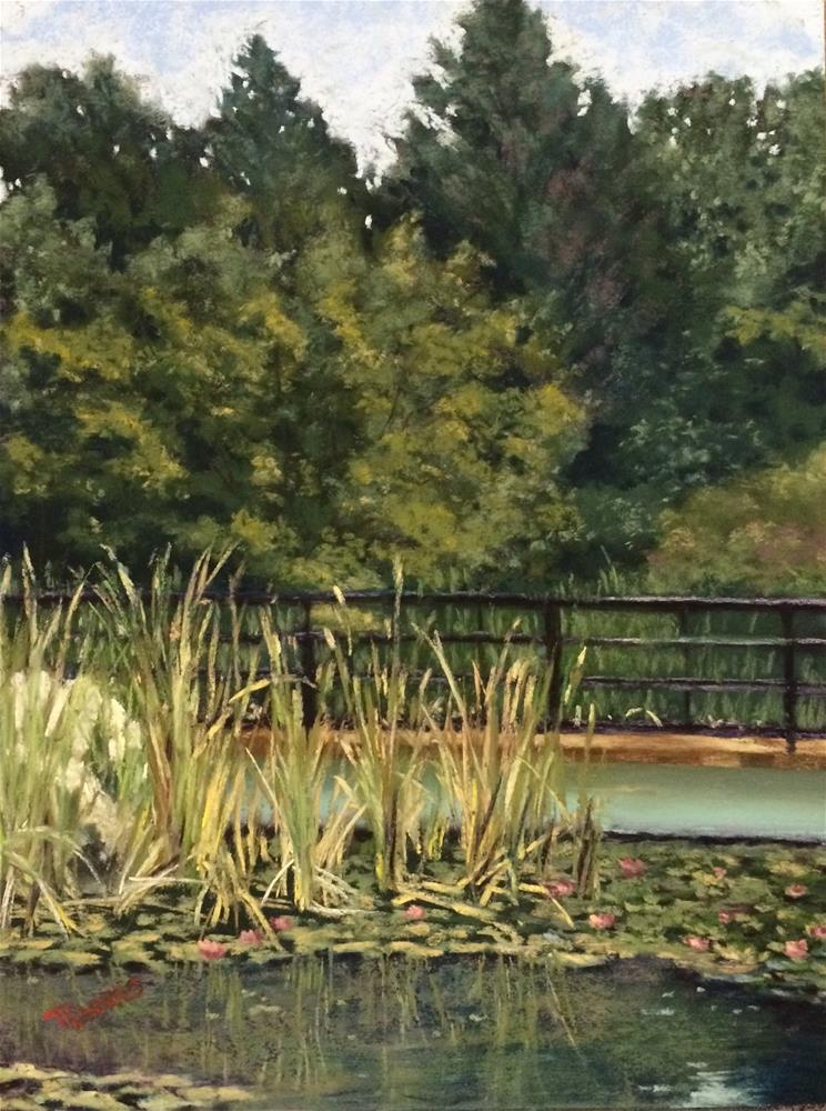"""A Day in the Park"" original fine art by Christina Karras"