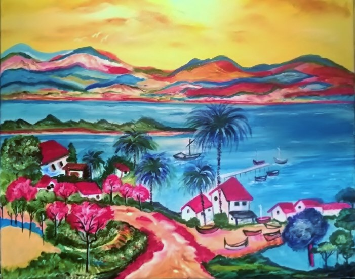 """Take the Right Path"" original fine art by Susan Belisle"