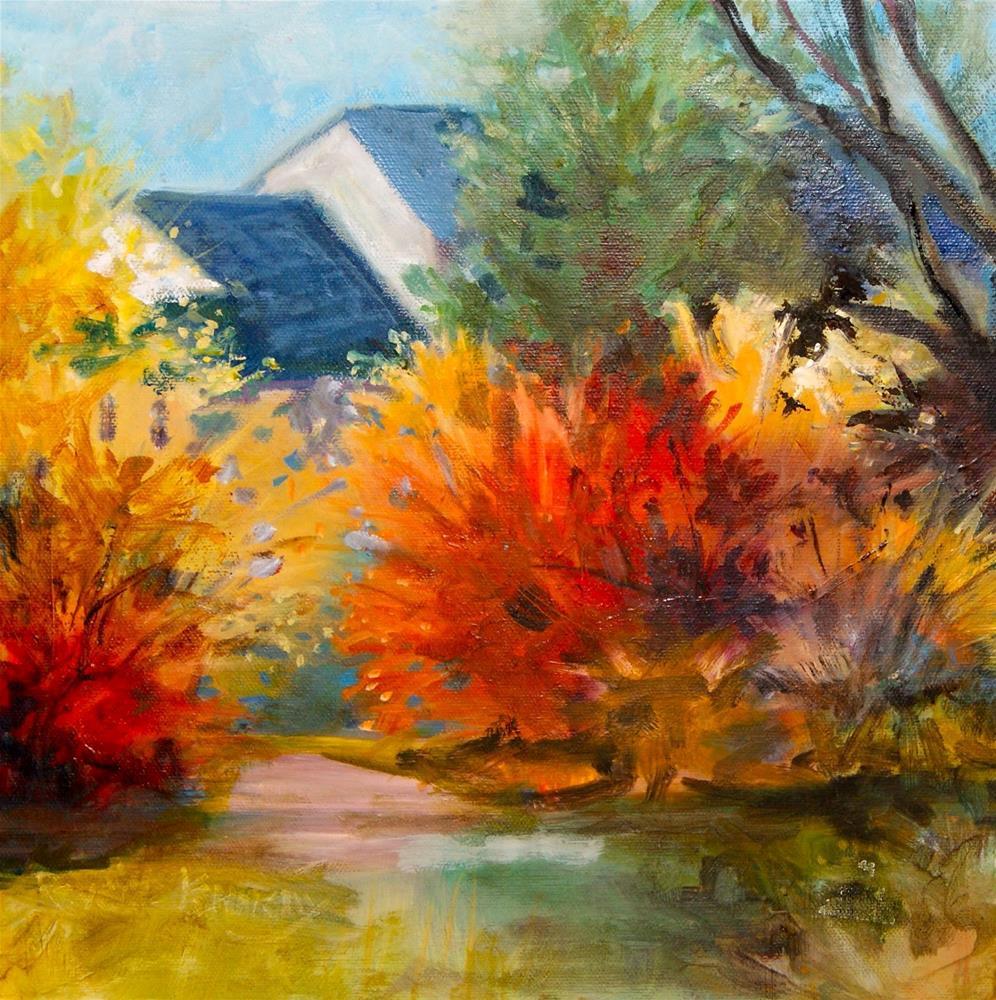 """""""Autumn Dream"""" original fine art by Reveille Kennedy"""