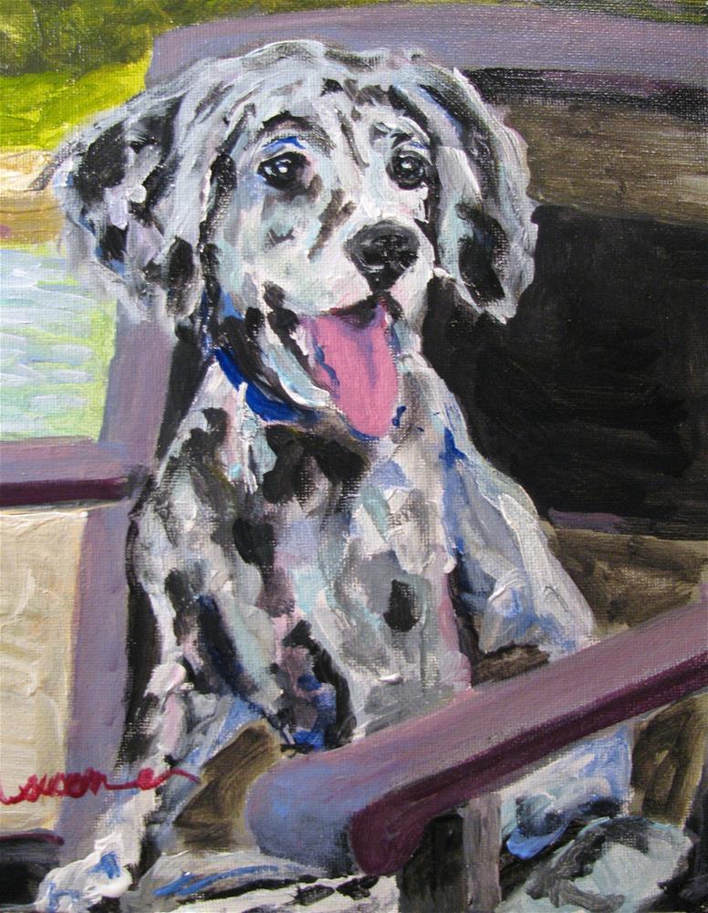 """Pippa"" original fine art by Susan Elizabeth Jones"