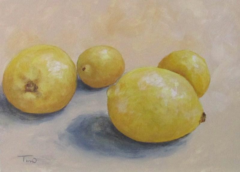 """June Lemons"" original fine art by Torrie Smiley"
