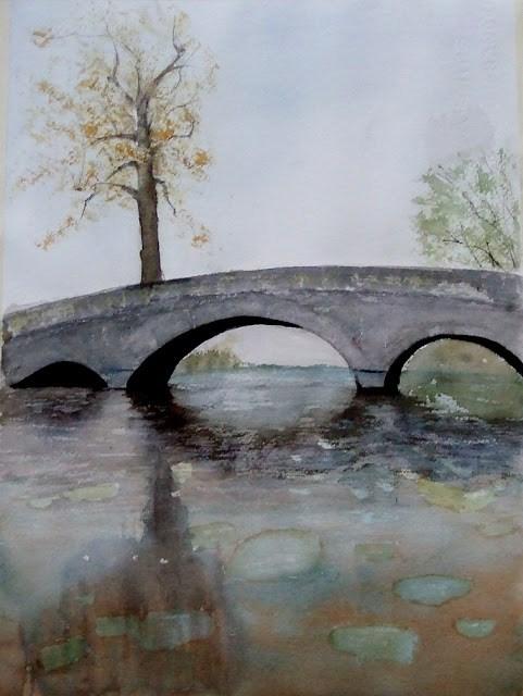 """""""Paper: Arches 300"""" original fine art by Mitsuru Cope"""