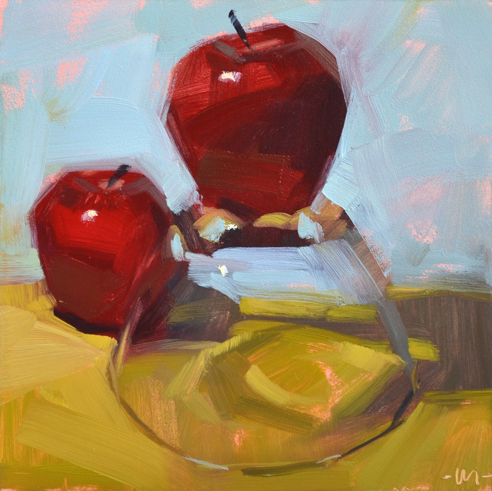 """Infatuation"" original fine art by Carol Marine"
