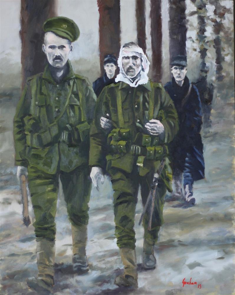 """Old Contemptibles"" original fine art by Graham Townsend"