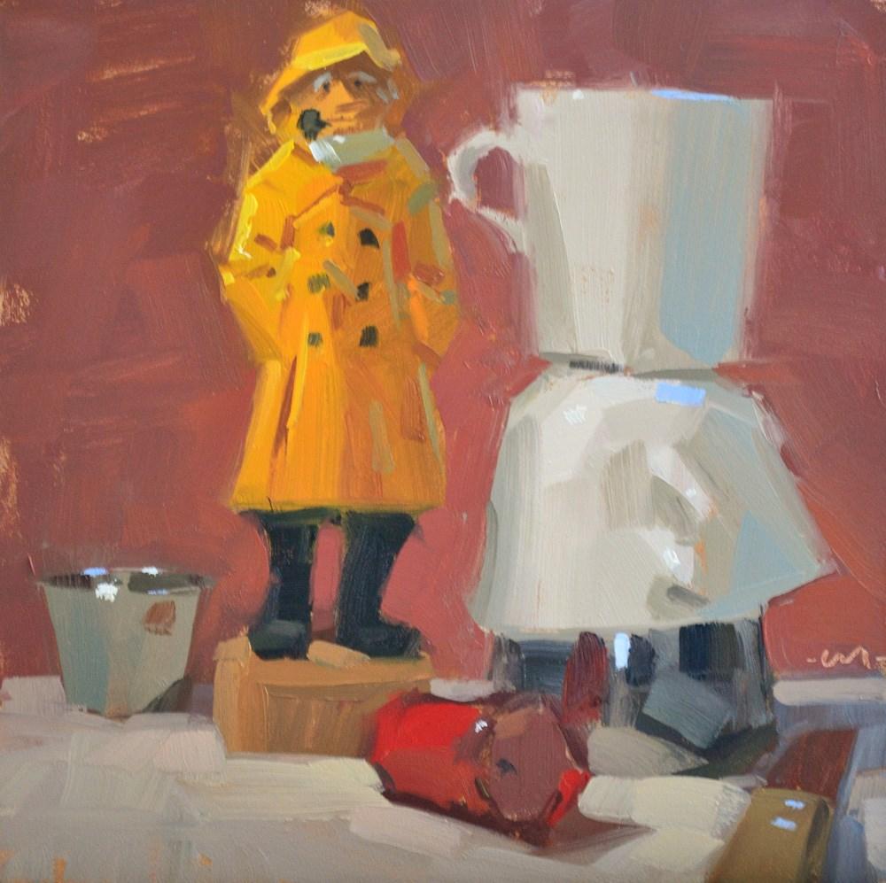 """Flotsam and Jetsam"" original fine art by Carol Marine"