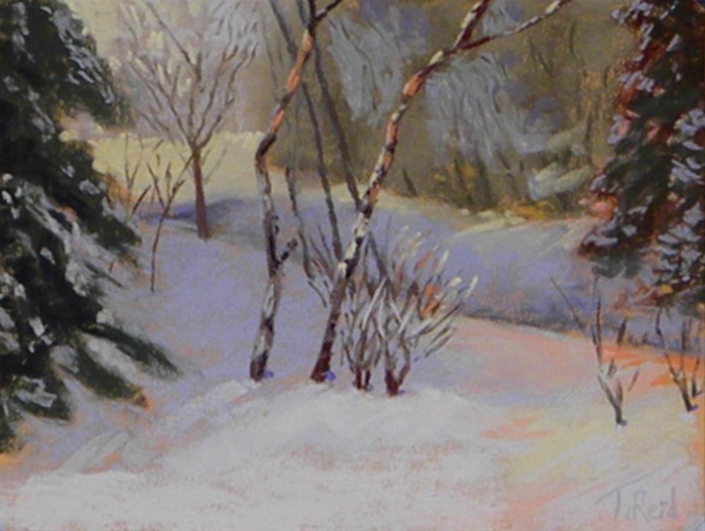 """""""Shadow lights"""" original fine art by Toby Reid"""