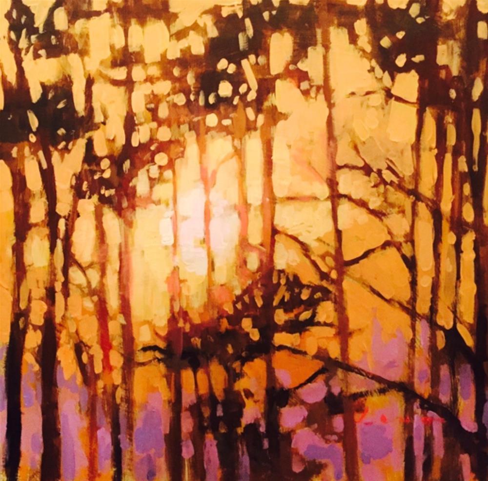 """""""Summer Heat"""" original fine art by Chris Long"""