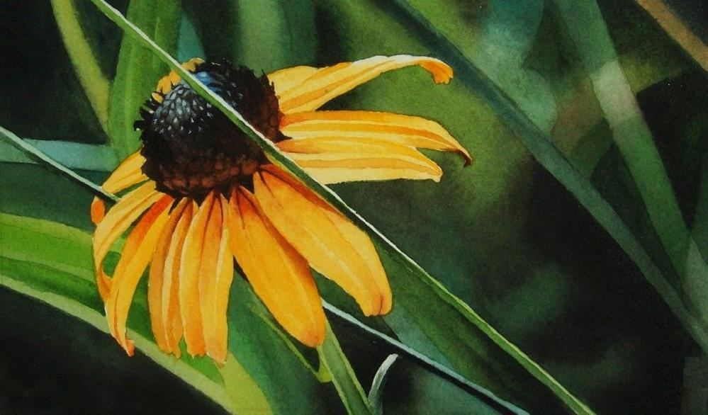 """A Touch of Fall"" original fine art by Jacqueline Gnott, TWSA, WHS"
