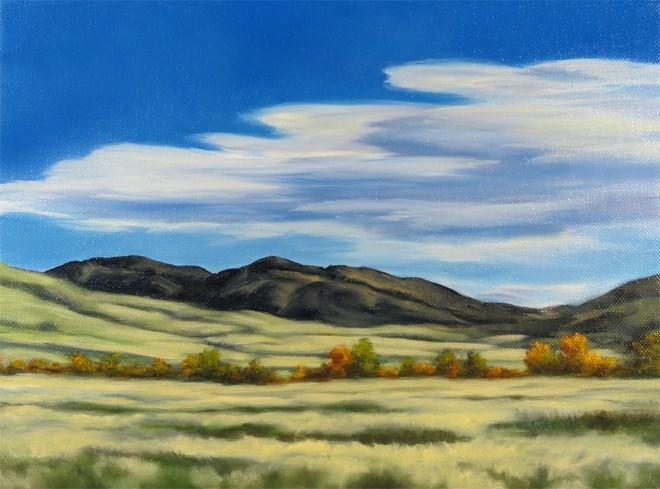 """""""Fall Rocks"""" original fine art by Carol Zirkle"""