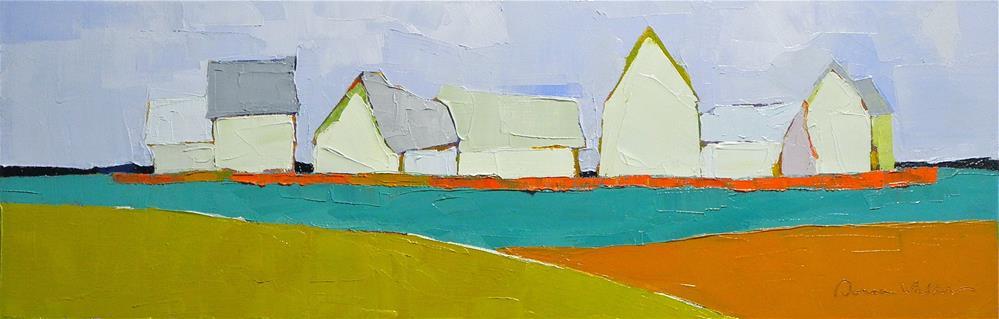 """Symphony"" original fine art by Donna Walker"