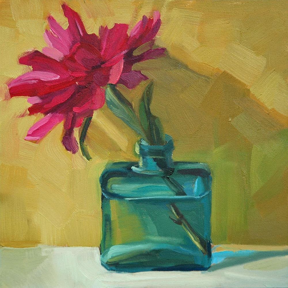 """Peony"" original fine art by Miriam Hill"