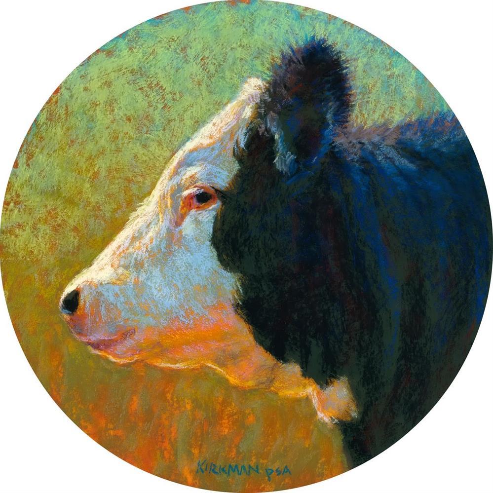 """Cupcake (My Second Round Painting)"" original fine art by Rita Kirkman"