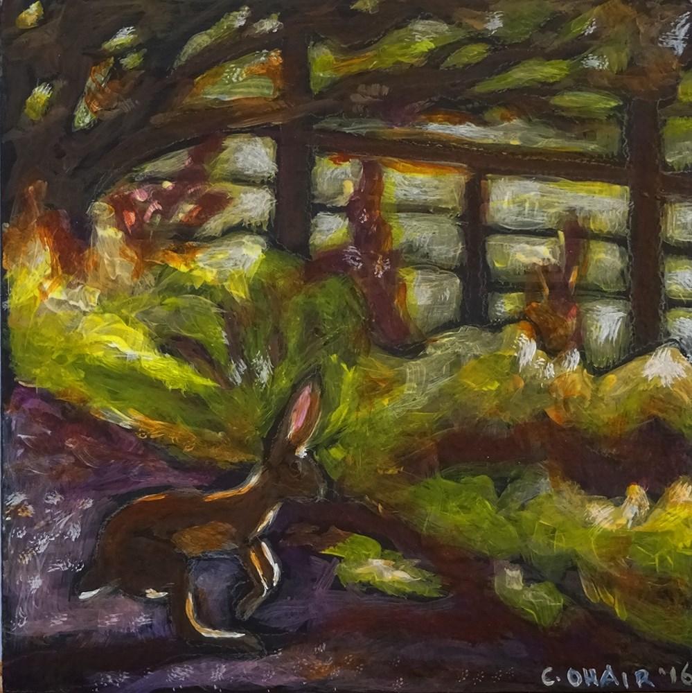 """""""Evening Stroll"""" original fine art by Colleen OHair"""